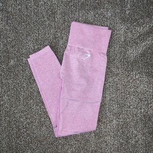 Gymshark Vital Seamless Leggings in Pink Marl
